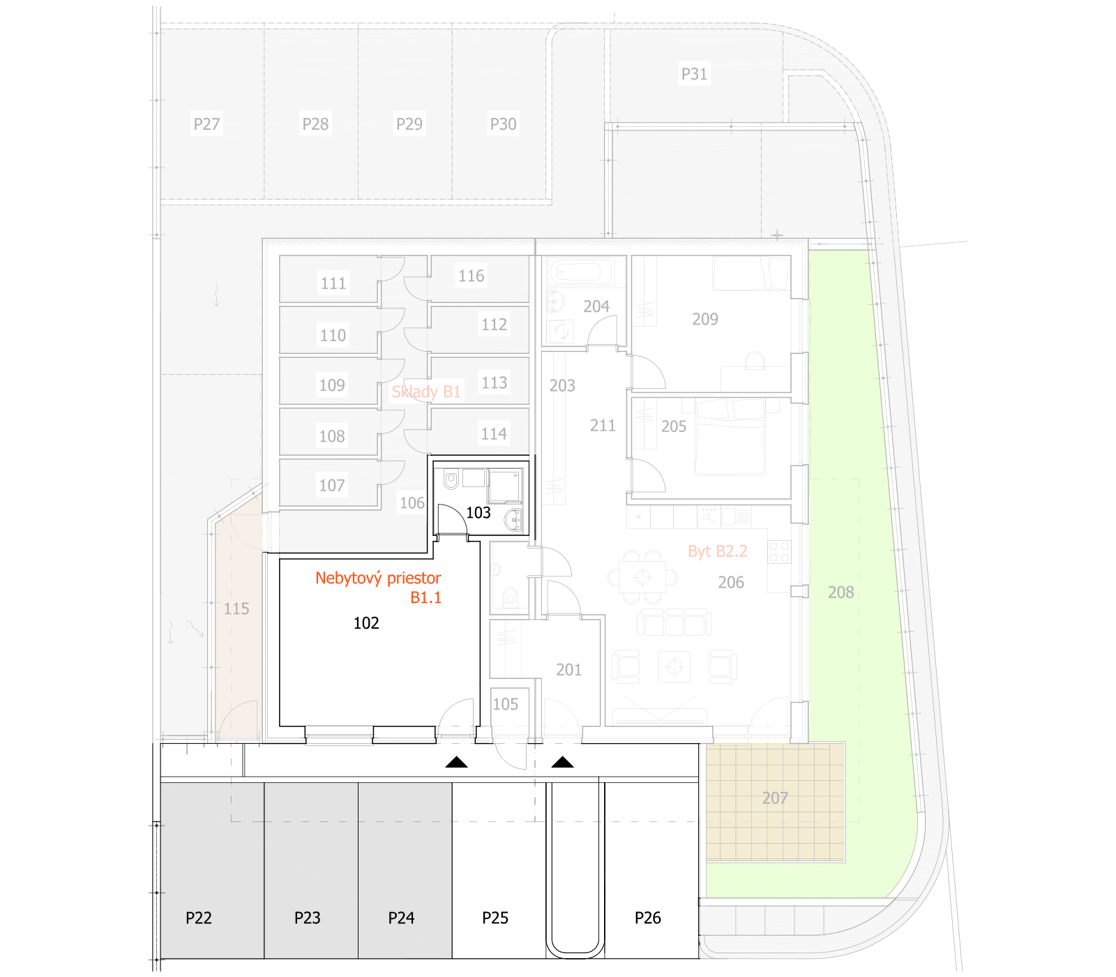 pôdorys domu